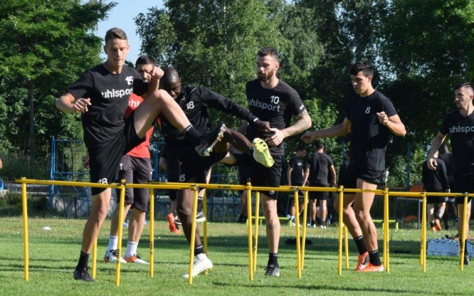 Носителят на Купата на България Локомотив Пловдив продължава с усилената
