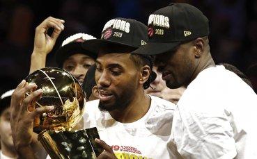 Милионен парад за Торонто след триумфа в НБА
