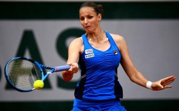 Каролина Плишкова чака победителката от мача между сестра си и Вики Томова