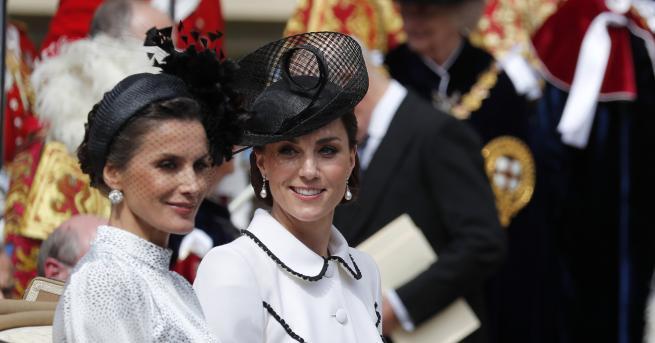 В понеделник херцогинята на Кеймбридж поседи годишната служба на Ордена