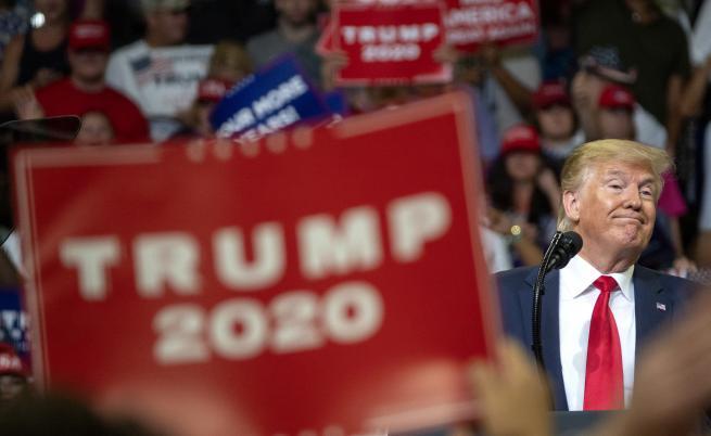 Тръмп иска втори мандат