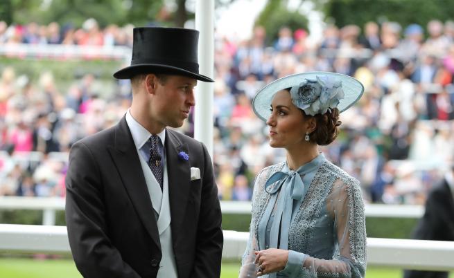 Полицай от охраната на принц Уилям и Кейт блъсна жена