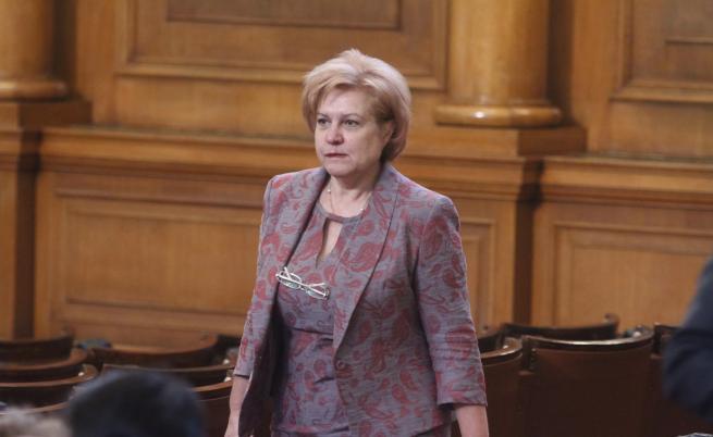Председателят на комисията по бюджет и финанси и депутат от ПГ на ГЕРБ Менда Стоянова