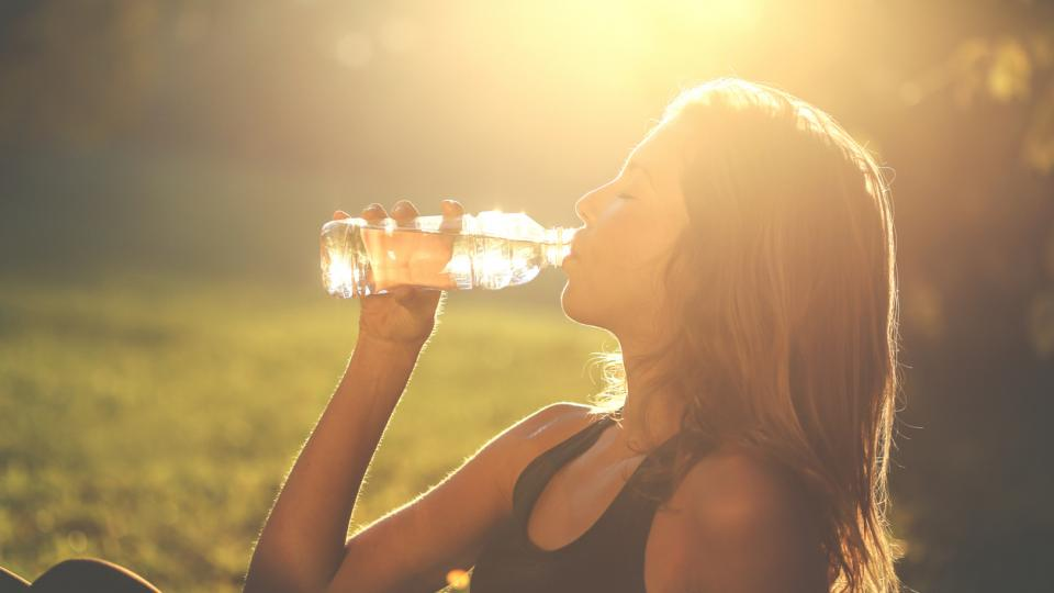 вода лято