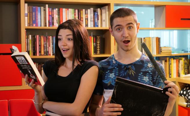 Българските ученици, в чиито ръце книгите оживяват