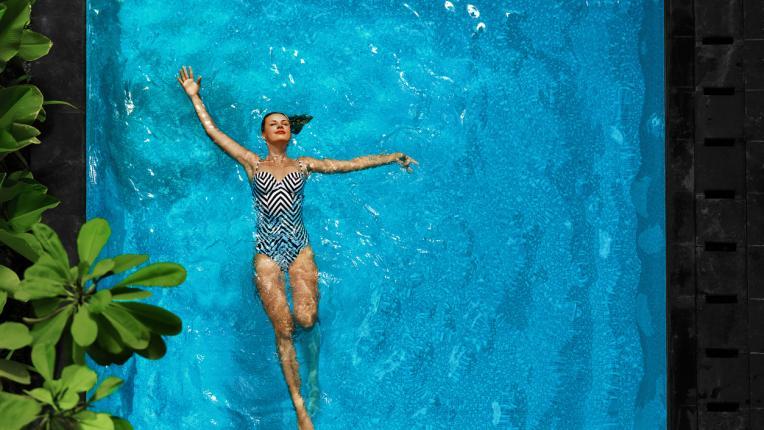 спа басейн лято