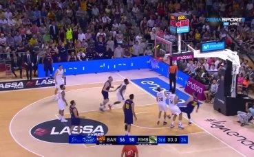 Нова драма в баскетболното Ел Класико, Реал пропусна да стане шампион