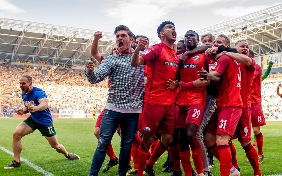 Спечелилият промоция в Бундеслигата за следващия сезон тим на Падерборн