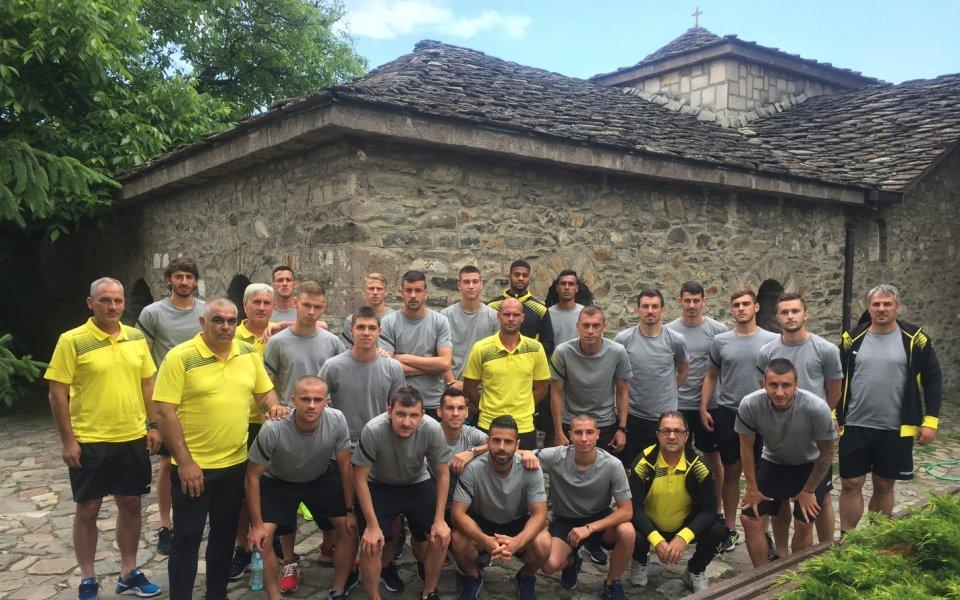 Футболистите и треньорите на Ботев Пловдив посетиха Батак