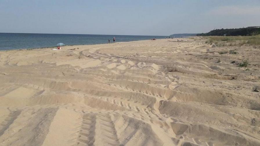 Спешна проверка след сигнал - разорани дюни на Камчия
