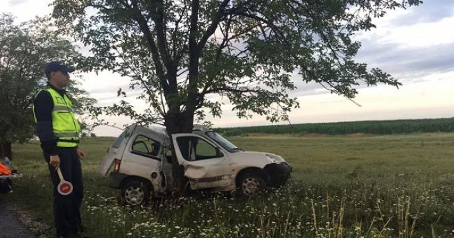 България 24-годишен мъж загина при катастрофа край Шумен Той се