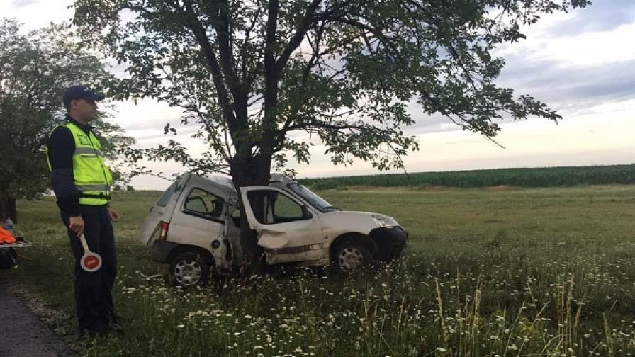 24-годишен мъж загина при катастрофа край Шумен
