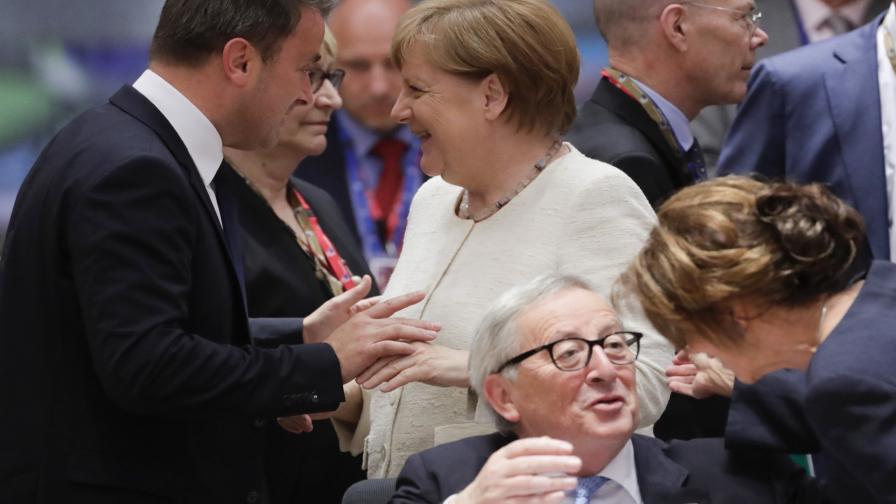 <p>Евролидерите не се разбраха за наследника на Юнкер</p>