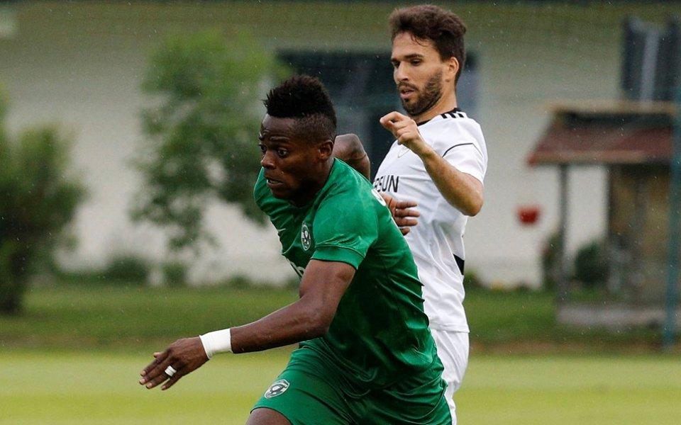 Отборите на Славия и Лудогорец играят при резултат 0:0 в