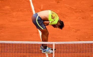 Рафаел Надал с мускулно претоварване, не тренира