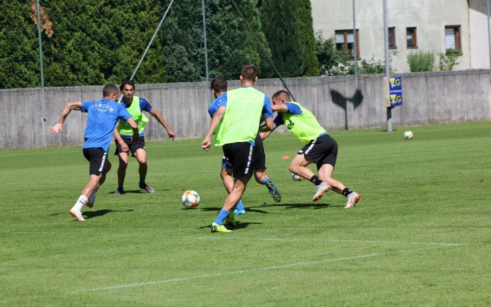 Тренировка и възстановяване за Левски