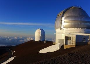 На Хаваите се строи огромен телескоп