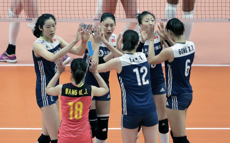 Финалните шест отбора във волейболната Лига на нациите при жените