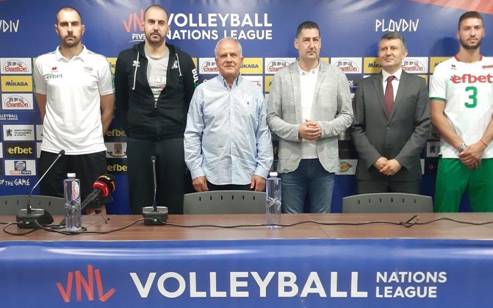 Кметът на Пловдив призова за сериозна подкрепа на волейболните национали