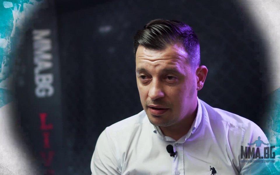 Детелин Далаклиев е отговорникът за организирането на боксовите срещи в