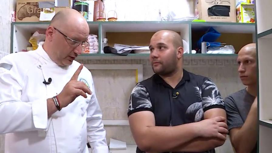 <p>Шеф Манчев на ръба на нервна криза в последния&nbsp;епизод на &bdquo;Кошмари в кухнята&ldquo;</p>
