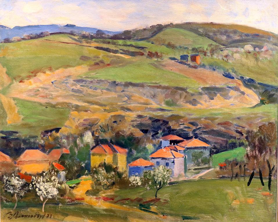 Здравко Александров (1911 – 1998) Пейзаж, 1973