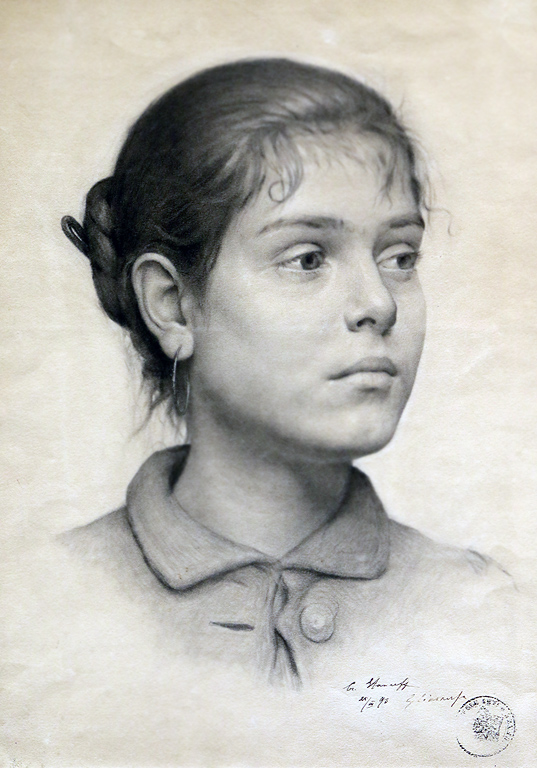 Христо Станчев Етюд, 1893г