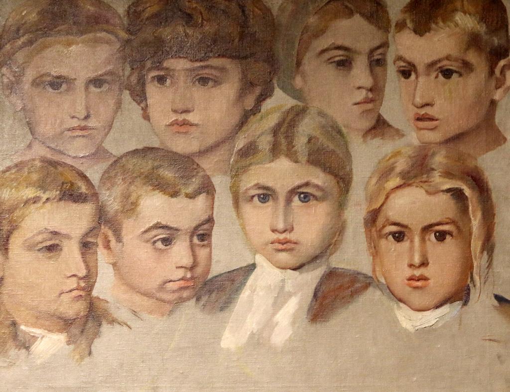 Владимир Димитров - Майстора Детски глави 1920г.