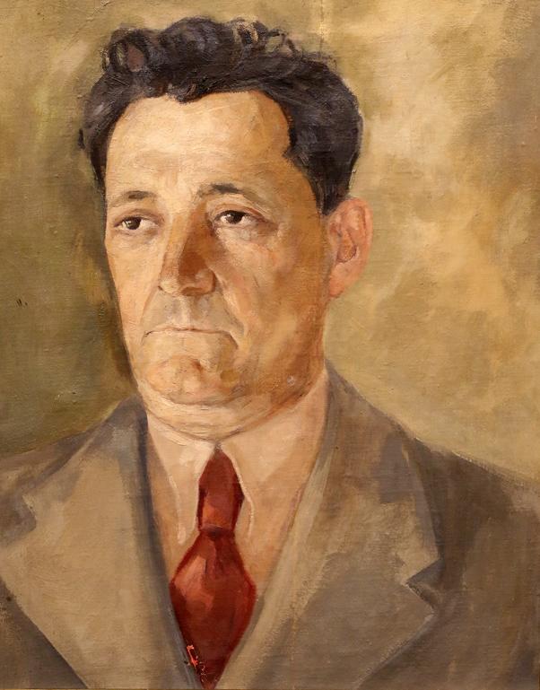 Стефан Славов Мъжки портрет 1937г.