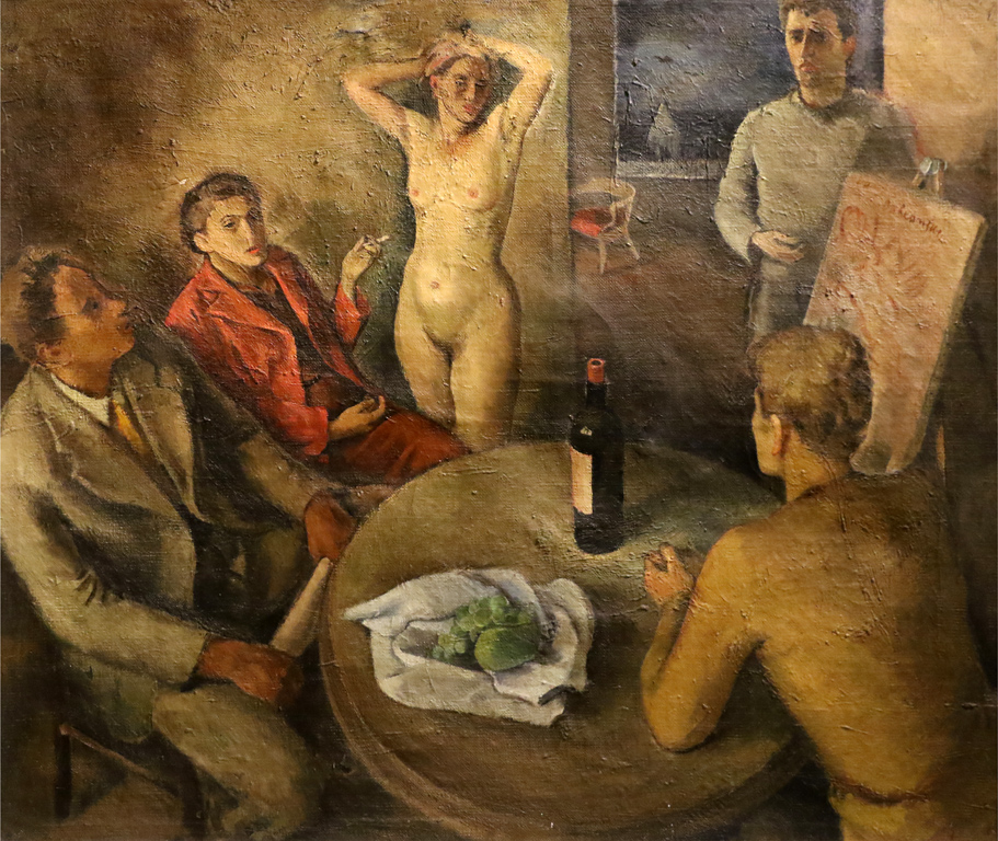 Петко Балкански Парижко ателие 1938г.