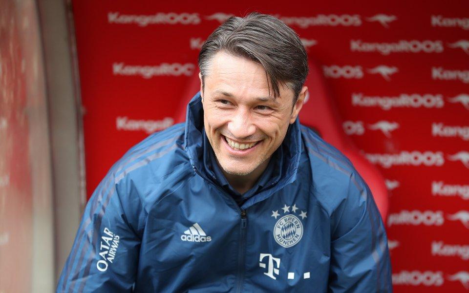 Наставникът на Байерн Мюнхен Нико Ковач е поставил спортния директор