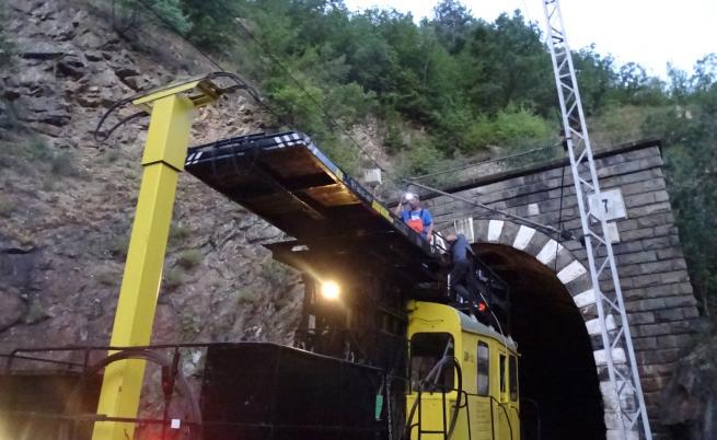 Авария спря влаковете между Кресна и Благоевград