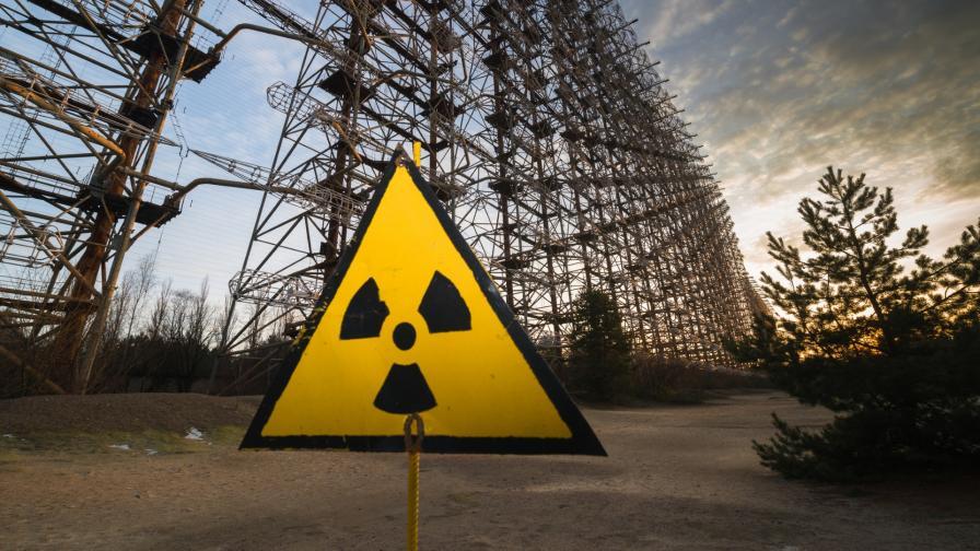 Пожар повиши радиацията край Чернобил 15 пъти над нормата