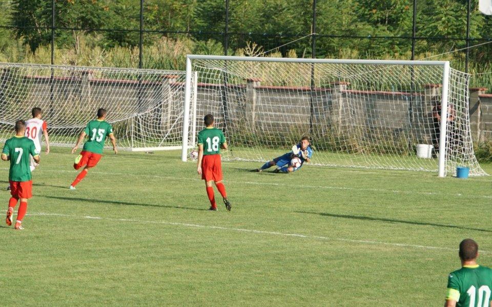 Отборът на Асоциацията на българските футболисти, съставен от играчи без