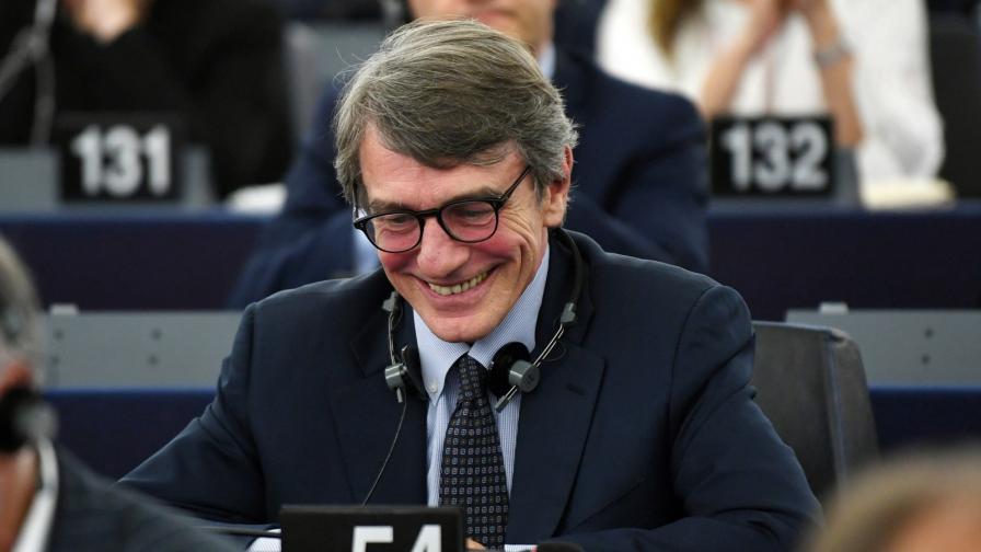 Давид Сасоли е новият председател на Европейския парламент