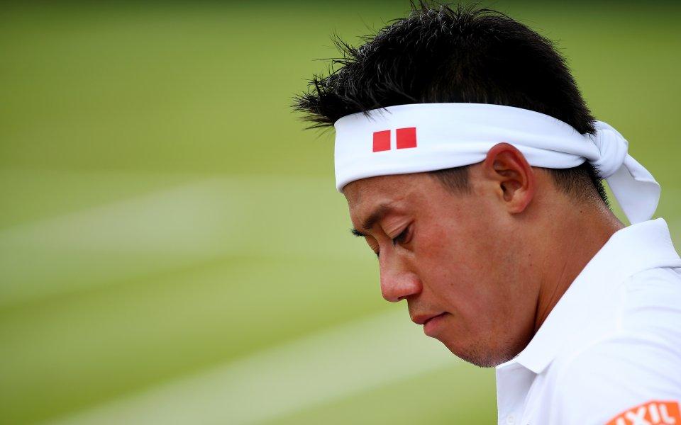 Японецът Кей Нишикори се класира за третия кръг на Уимбълдън,