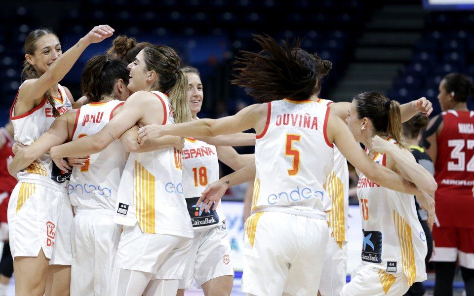 Ясни са първите два полуфиналиста на Евробаскет за жени