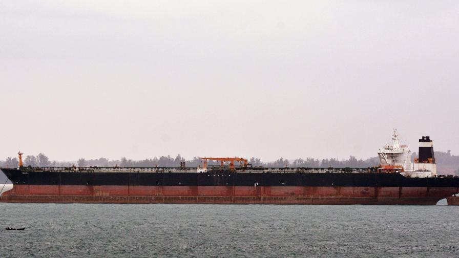 САЩ предложили милиони долари подкуп на капитан на ирански танкер