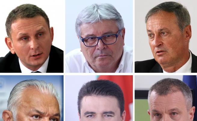 Пред медийния регулатор концепциите си представиха Сашо Йовков, Никола Тодоров, Явор Симов, Сашо Диков, Емил Кошлуков и Стоил Рошкев.