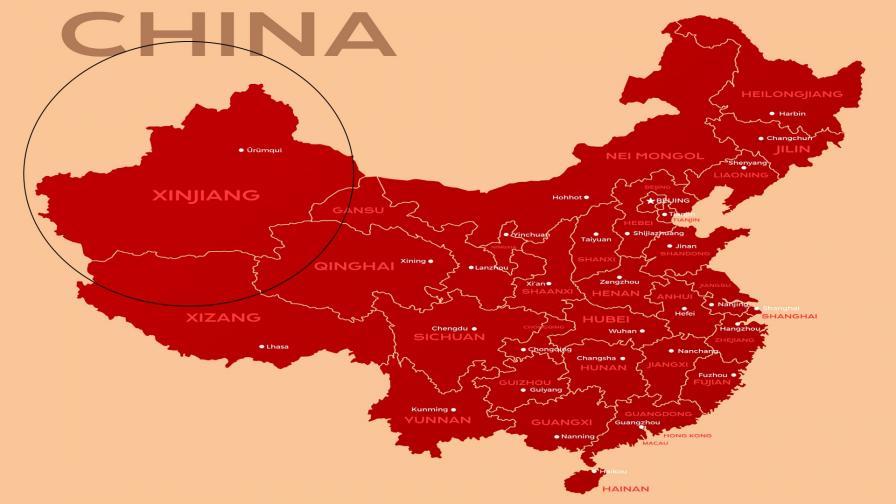 Синдзян, Китай