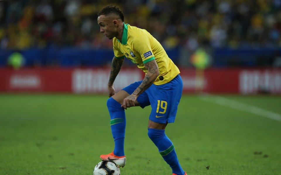 Откритието на Бразилия от Копа Америка мечтае за Милан