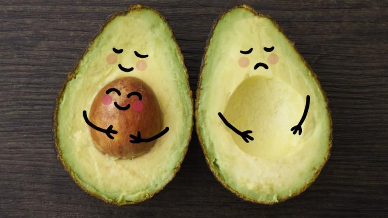бебе бременност авокадо