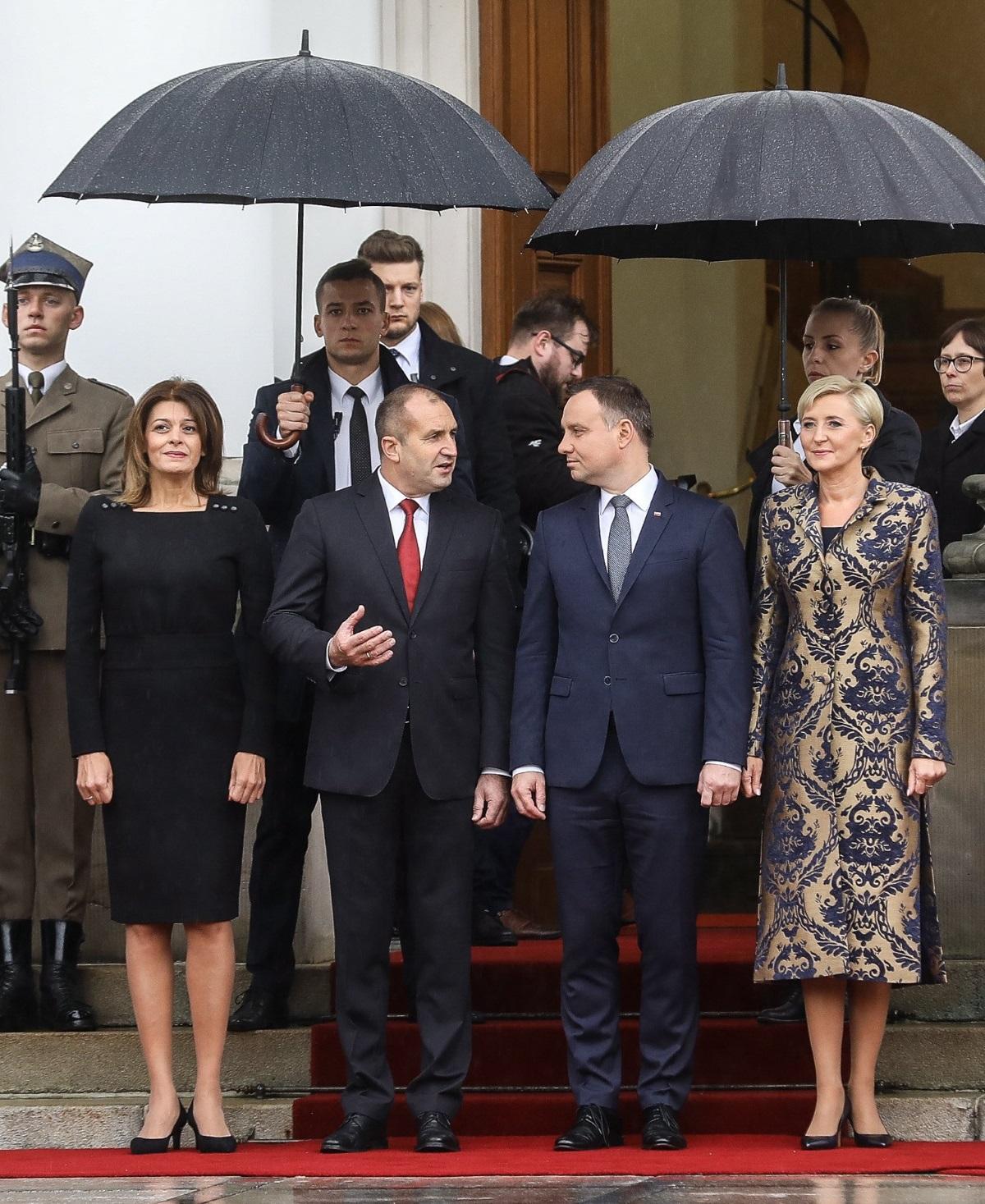 На официалното посещение в Полша (2017).
