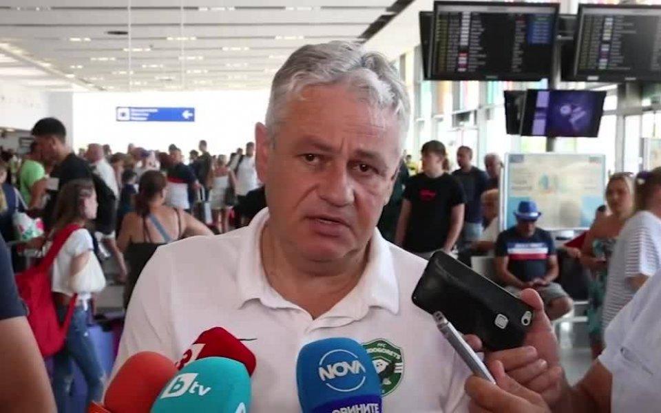Стойчо Стоев: Марселиньо отдавна е част от отбора
