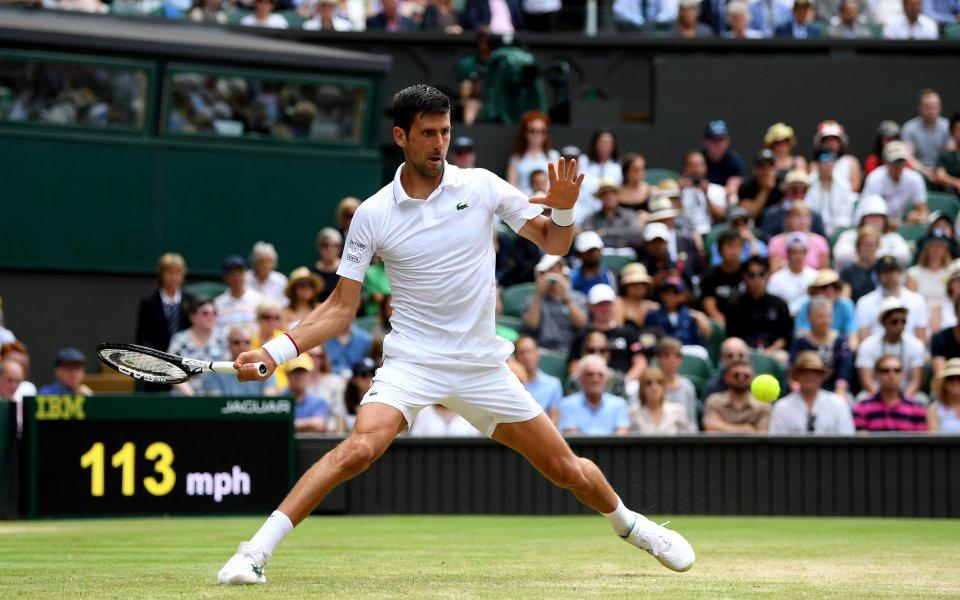 Водачът в световната ранглиста по тенис Новак Джокович се класира