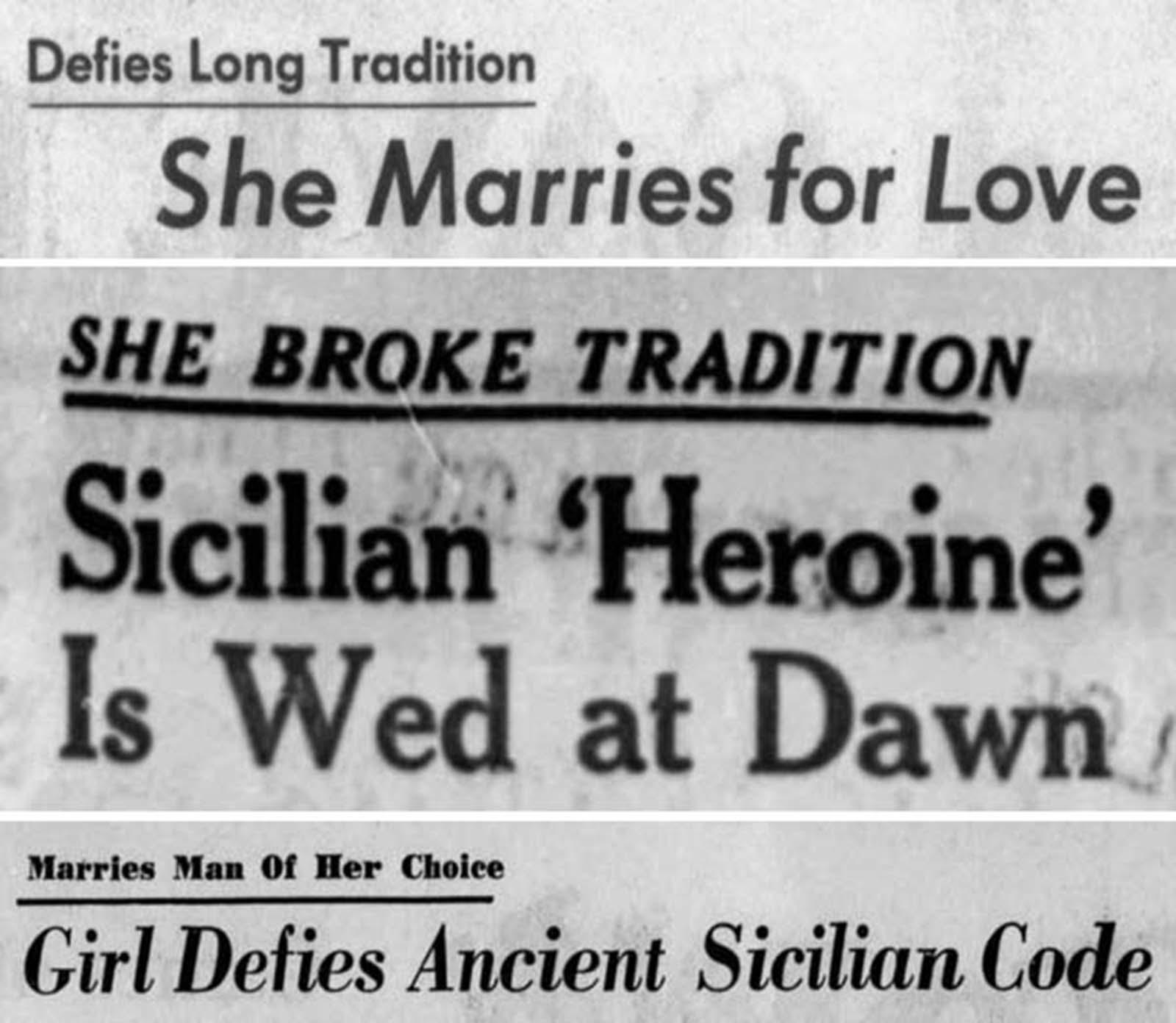 <p>1966, Заглавия от вестниците.</p>