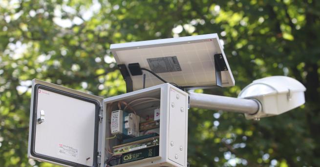 Снимка: Качеството на въздуха в София достъпно през телефон