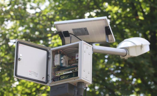 Качеството на въздуха в София достъпно през телефон