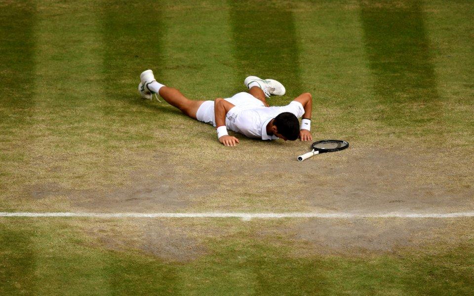 Невероятния трилър срещу Роджър Федерер във финала на Уимбълдън вчера,