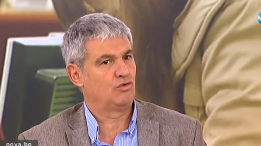 Президентът на КНСБ Пламен Димитров